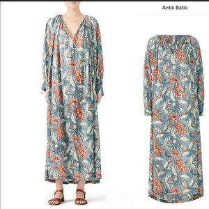 Anti Batik Blue Kaleo Dress